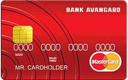 Кредитная карта банк Авангард