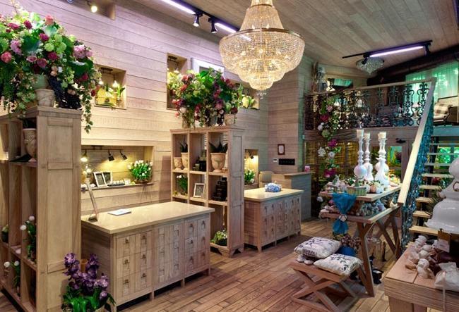 Дизайны цветочных магазинов