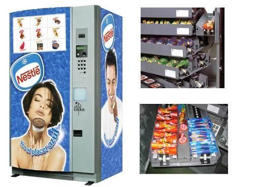 Автоматы по продаже мороженного