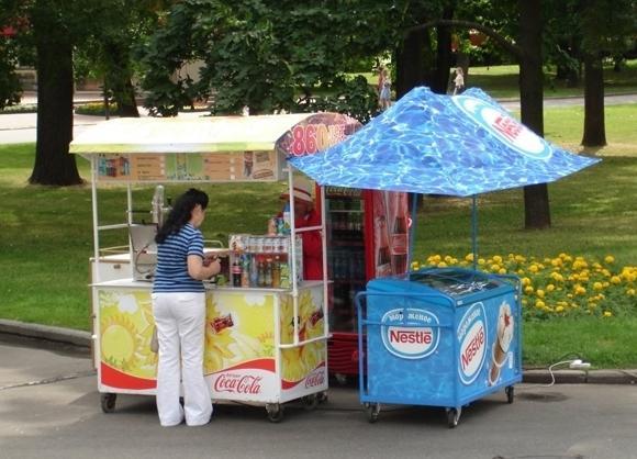 Продажа мороженного