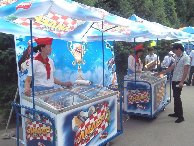 Торговля мороженым