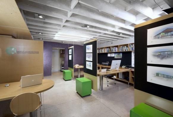 Офис в подвале