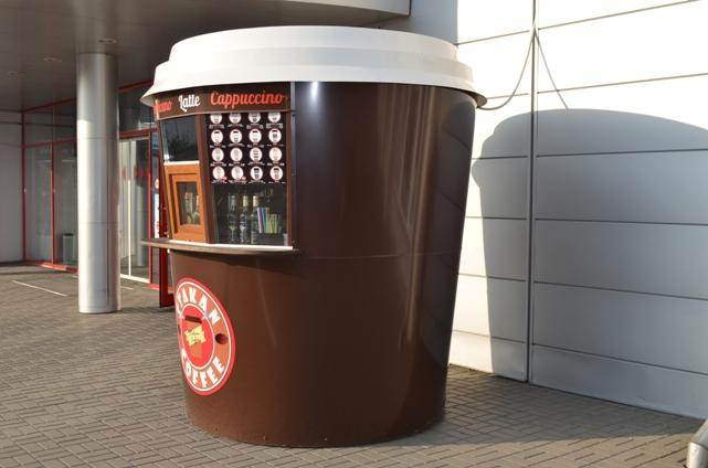 Ларек по продаже кофе