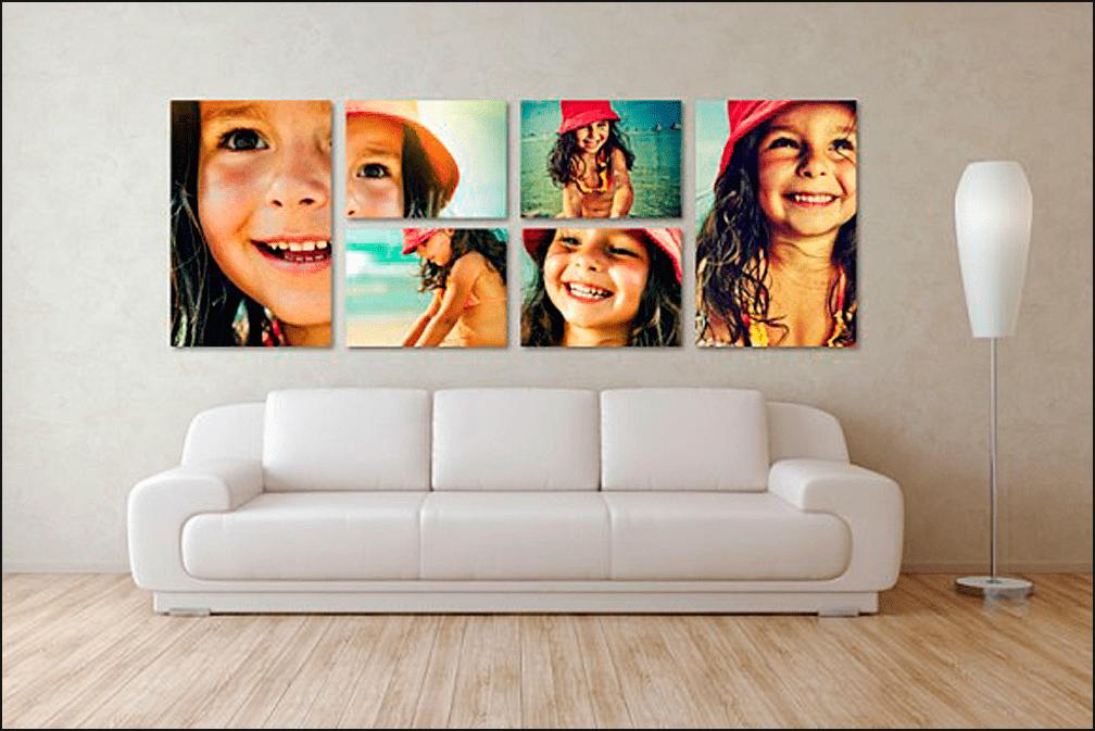 Ребенок на картине