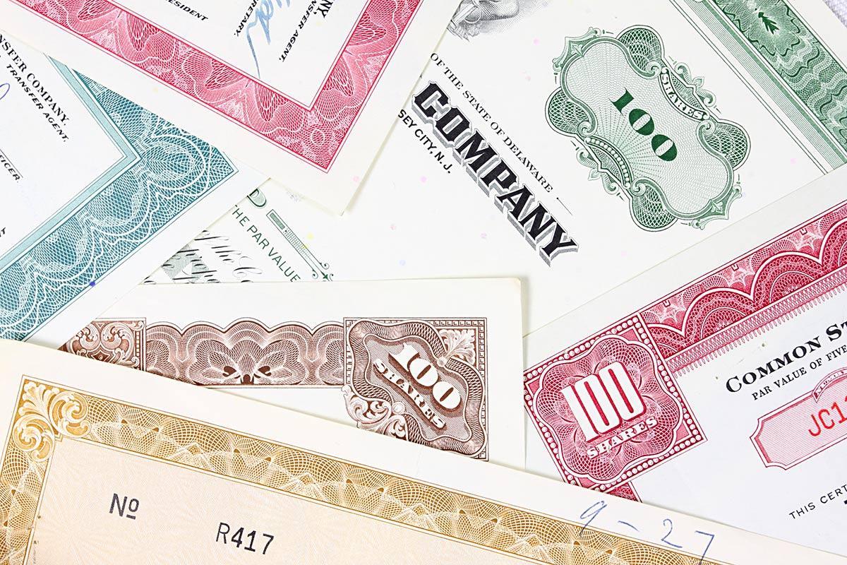 Основные инструменты рынка ценных бумаг акции облигации