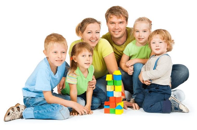 Все льготы многодетным семьям в 2018 году