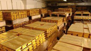 Золотые запасы