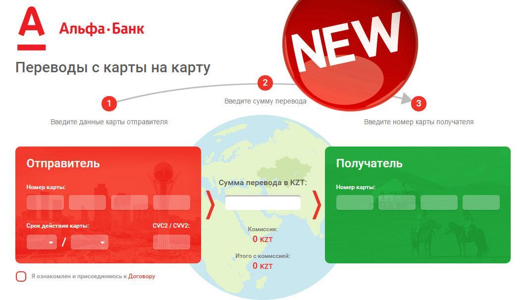 Переводим на карту МИР с карты Альфа-Банка