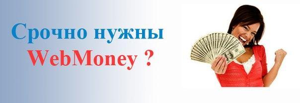 Как и где получить webmoney кредит?