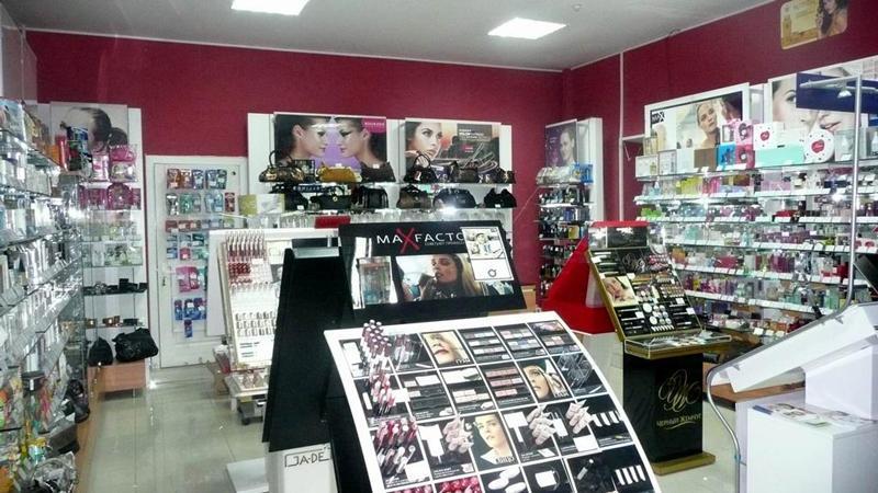 Отдел парфюмерии и косметики