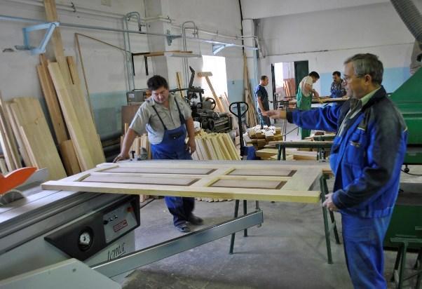 Цех по обработке древесины