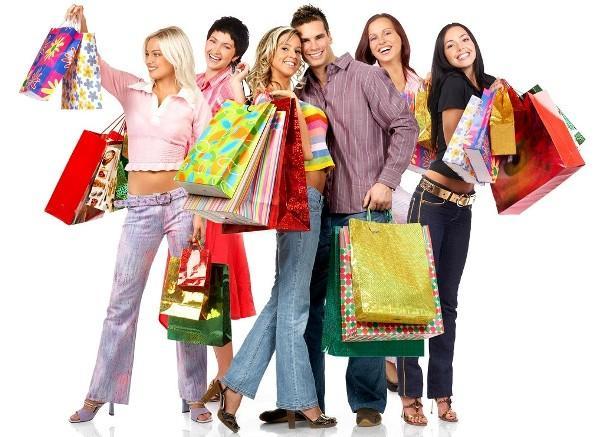 Покупатели с покупками
