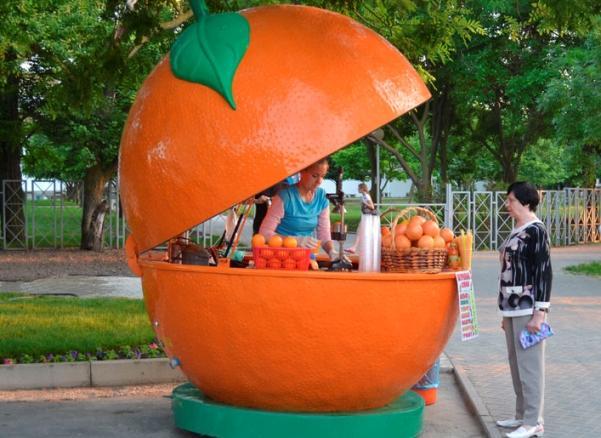 Фреш-бар апельсин