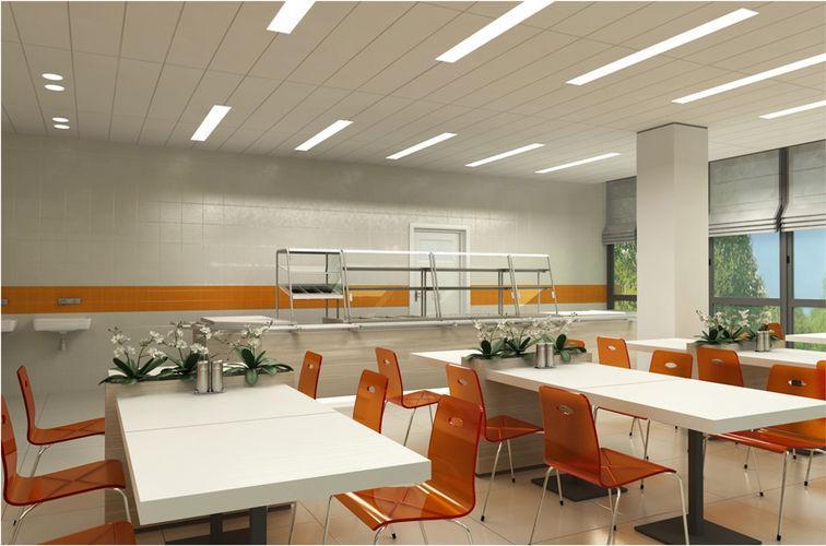 Дизайн общественной столовой