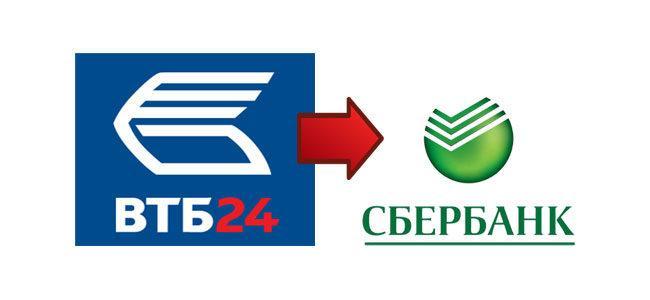 Как перевести деньги с карты ВТБ на карту Сбербанка через интернет-банкинг